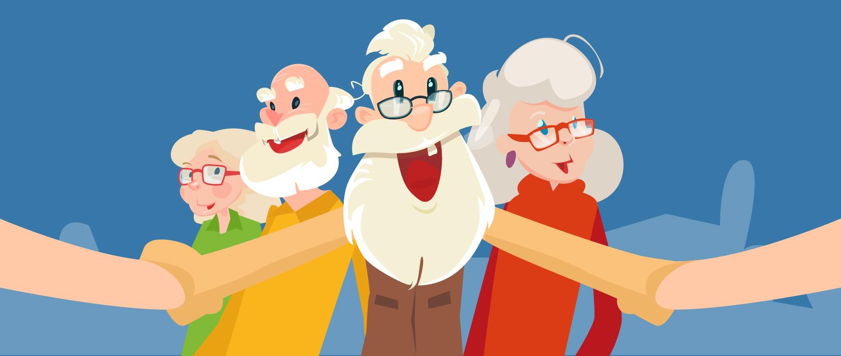 Oma hat die WhatsApps-Gruppe gesprengt