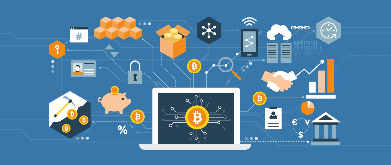 Kryptowährung Bitcoin in der Praxis