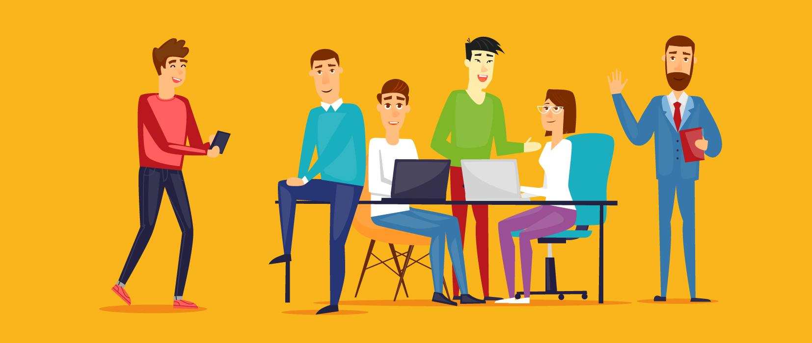 Viele Männer und kaum Frauen am digitalen Stammtisch